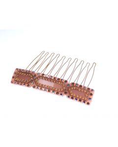 M.C. Davidian - Giselle Gold Hair Comb Gold