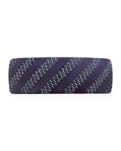 Crystal Stripes Hårspænde (BLUE)